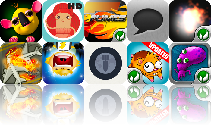iPhone And iPad Apps Gone Free: Talking Pals-Kooka, Thumbelina, Fumes Stunt Racer, And More