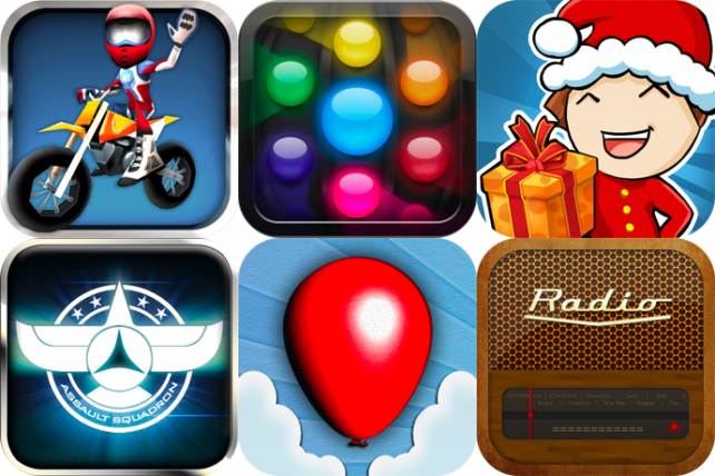 iPhone And iPad Apps Gone Free: FMX Riders, Orba, My Little Restaurant: Christmas Edition, And More
