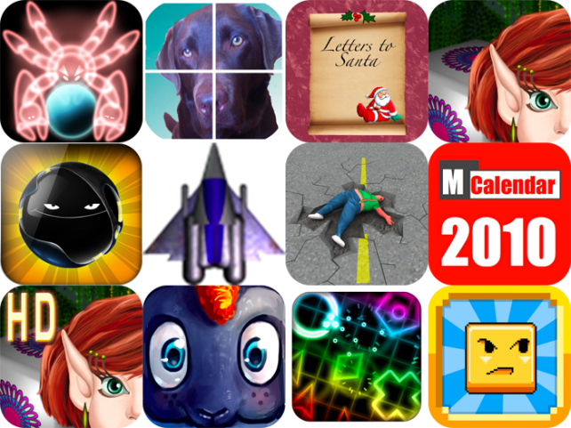 iPhone And iPad Apps Gone Free: Red Conquest, Scrambleface, Letters To Santa Claus, And More