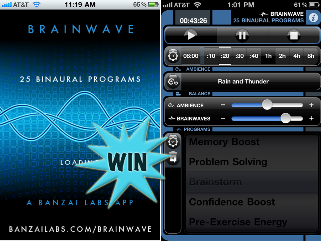 A Chance To Win A Brain Wave (Universal) Promo Code With A Retweet Or Comment