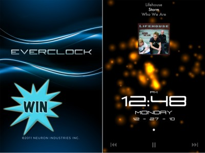 A Chance To Win An Everclock Pro For iPhone Or Everclock HD For iPad Promo Code