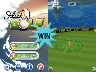 A Chance To Win A Flick Golf Promo Code With A Retweet Or Comment