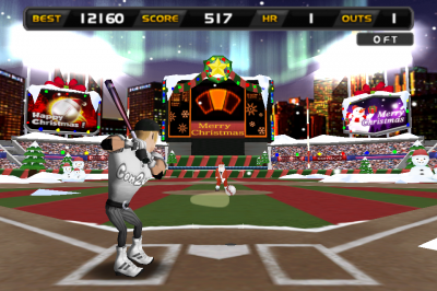 It's Beginning To Look A Lot Like Christmas In Homerun Battle 3D