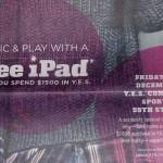 The iPad Doorbuster: Shop At Bloomingdales - Get A Free iPad