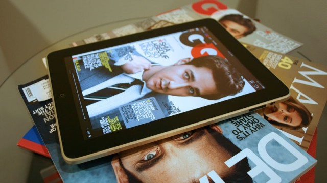 Apple Needs A Subscription Model; Magazine Sales On iPad Continue To Drop