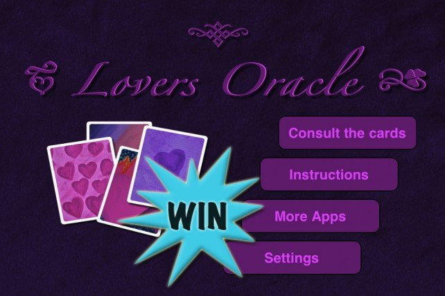 A Chance To Win A Lovers Oracle (Universal) Promo Code With A Retweet Or Comment