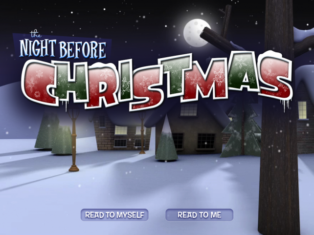 The Night Before Christmas Arrives For The iPad