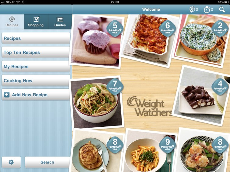 Weight Watchers Kitchen Companion: Eat Healthy, With A Little Help From Your iPad