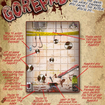 GorePad Game Is All About Blood, Guts, And Carnage