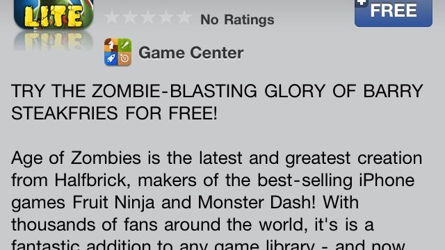 Age Of Zombies Lite - Available To Download Now!