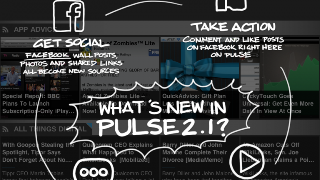 Competition Between Pulse News Reader And FLUD Heats Up