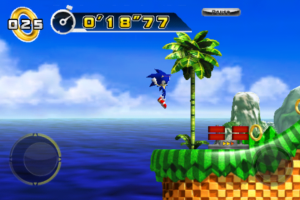 Sonic The Hedgehog 4 Now Features Game Center Integration