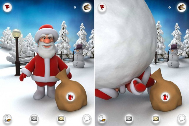 Spread Some Christmas Cheer This Year With Talking Santa For iPhone And iPad