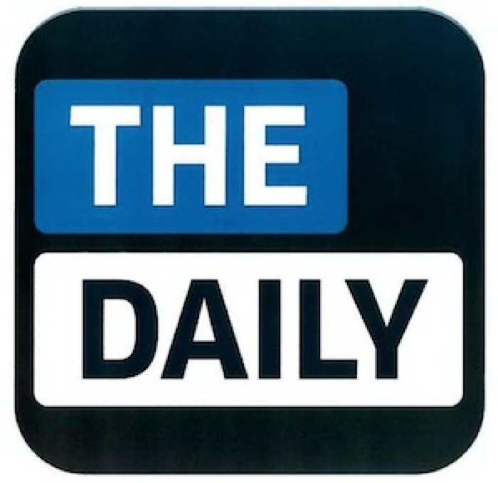 """Rumor: """"The Daily"""" Coming January 17"""