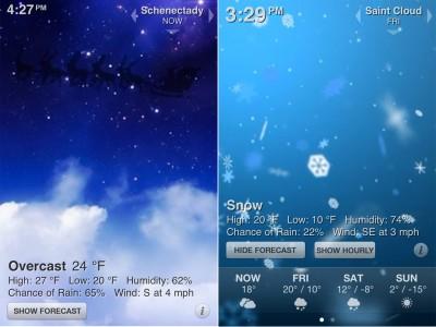 Keep An Eye On The Season With Weather HD: Christmas Edition