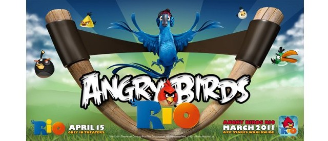 "Rovio: ""Angry Birds Rio,"" Coming This March"
