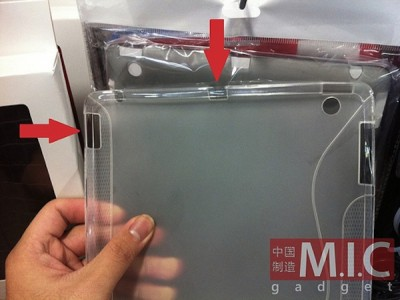 New Leaked iPad 2 Cases Hint At Two New Ports