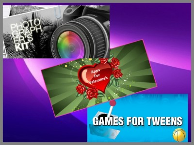 AppLists Revisited: Photographer's Kit, Apps for Valentine's, And Games For Tweens
