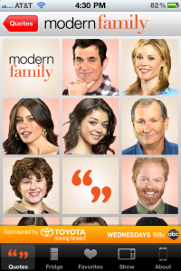Modern Family: Family Sayings Lands On The App Store