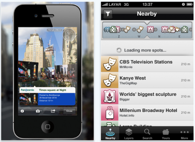 Layar Reality Browser Updated: Avoid If You're Running iOS 3.1.3 On iPhone 3GS