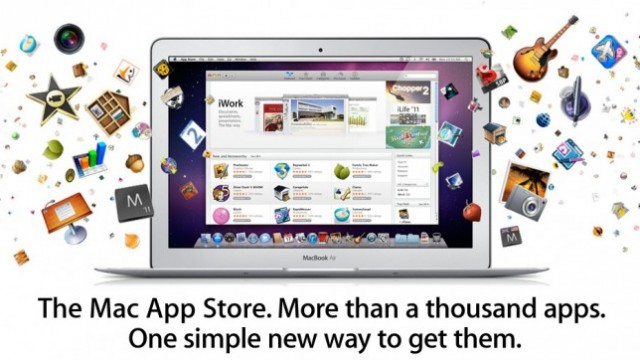 Mac App Store Available To Download Now!