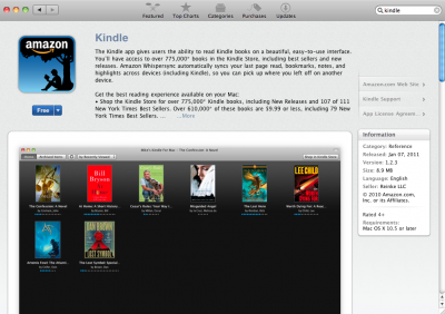 Kindle For Mac: Available Now On The Mac App Store