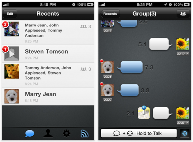 TalkBox Voice Messenger: Why Text, When You Can Send Voice IMs?