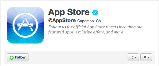 Apple's Official App Store Twitter Account Hits 50,000 Followers Just A Few Hours After Launch