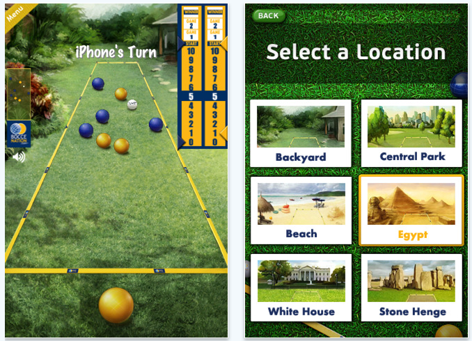 Bocce-Ball For iPhone: New, Free, And A Lot Of Fun!
