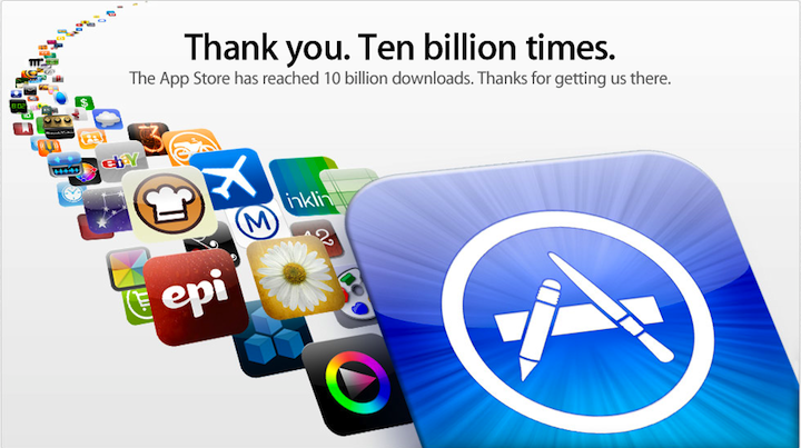 10 Billionth App Download Winner Hangs Up On Apple