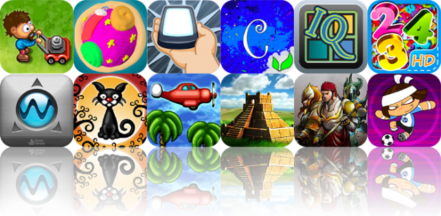 iPhone And iPad Apps Gone Free: Sunday Lawn, Alien Adventure, Flip It! Gyro Game, And More