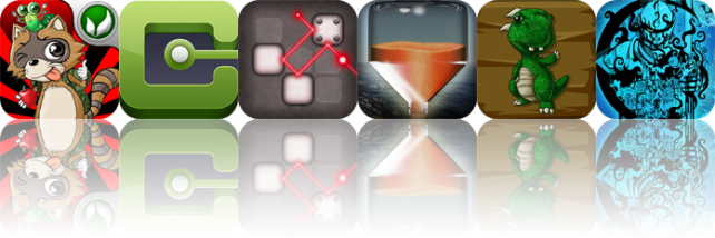 iPhone And iPad Apps Gone Free: Daring Raccoon, Chainr, Lazors, And More