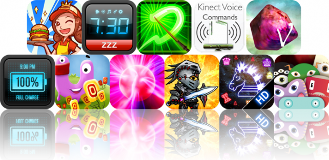 iPhone And iPad Apps Gone Free: Burger Queen, Mighty Clock, Wizard's Duel, And More