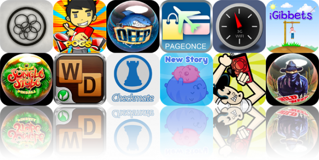 iPhone And iPad Apps Gone Free: Blind World, iPogs!, The Deep Pinball, And More