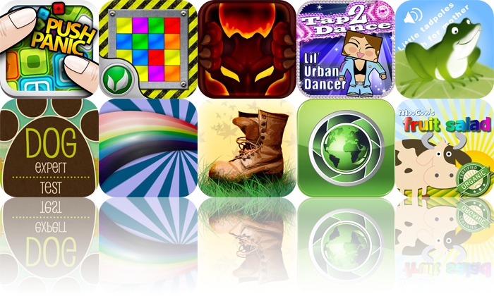 iPhone And iPad Apps Gone Free: Push Panic, Immix, Protector: The Planes, And More