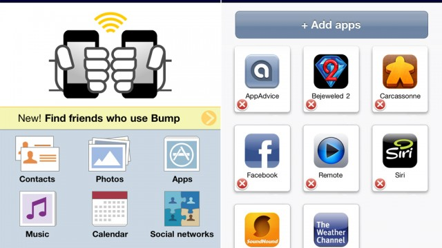 Now Share Your Latest App Recommendations With A Simple Bump