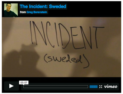 The Incident Is Hilariously Reenacted