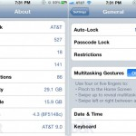 Video Reveals iOS 4.3 Multi-Touch Gestures For iPhone