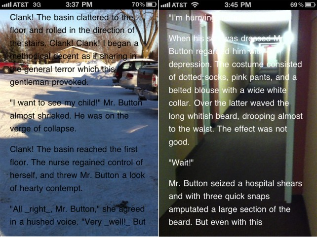 MegaReader: Now The First eBook Reader With HUD Technology
