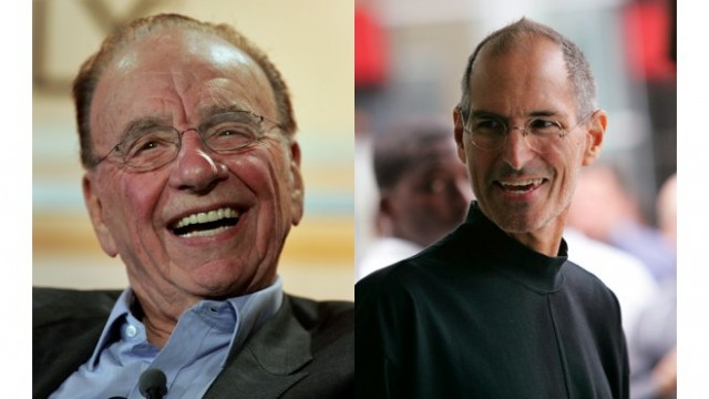 "Steve Jobs Will Join Murdoch On Stage To Announce ""The Daily"""