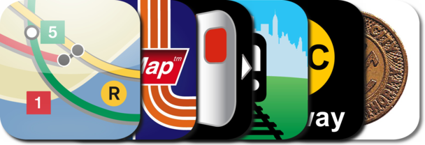 New AppGuide: NYC Subway Apps For The iPhone