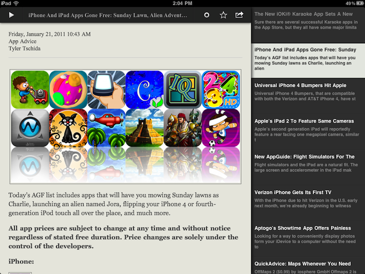 Readpad Is A Formidable Newcomer To The RSS Reader Market