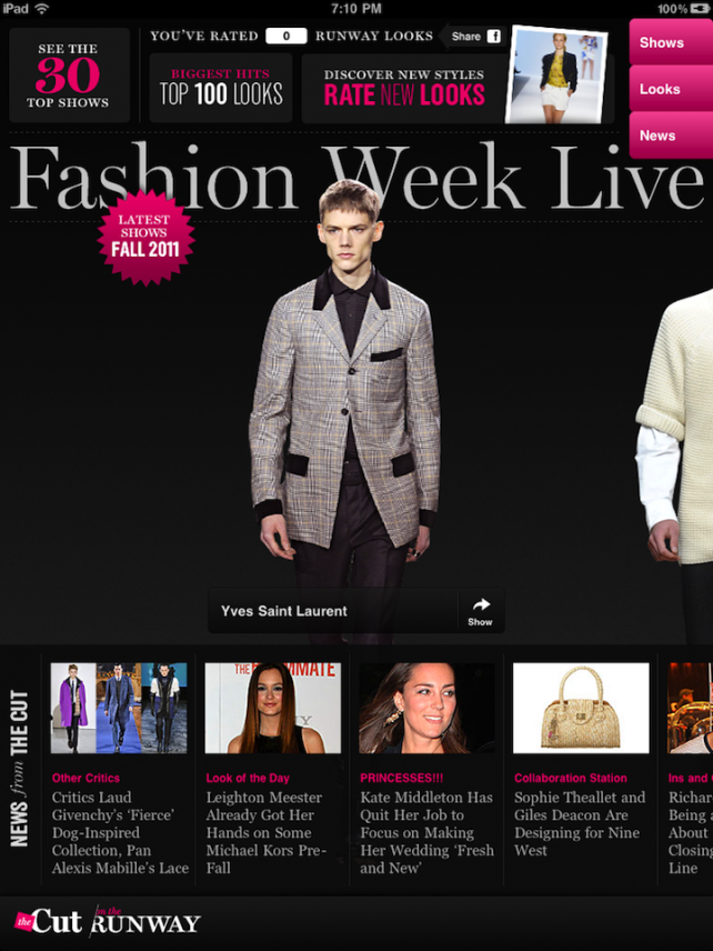Celebrate Fashion Week In Style With This New iPad App