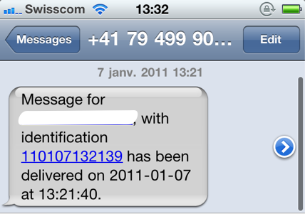 Get SMS Delivery Notification On iOS With This Handy Code Trick
