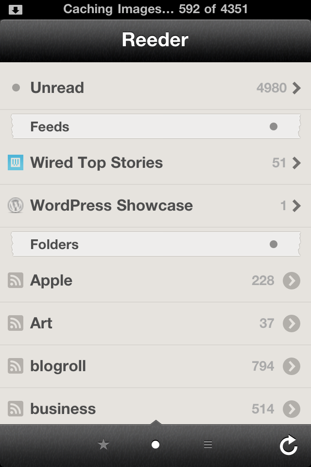 Reeder App Is Better And Faster With Latest Update