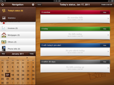 Bills HD Arrives For The iPad
