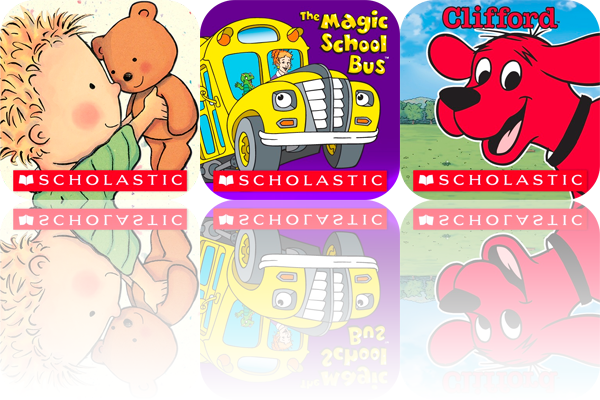 Scholastic Debuts Its Line Of Touch & Tilt Interactive Storybooks For iPad