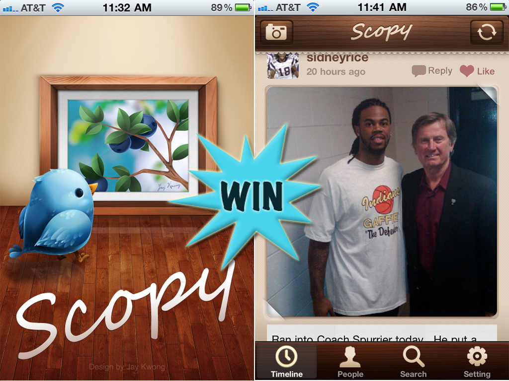 A Chance To Win A Scopy Promo Code With A Retweet Or Comment