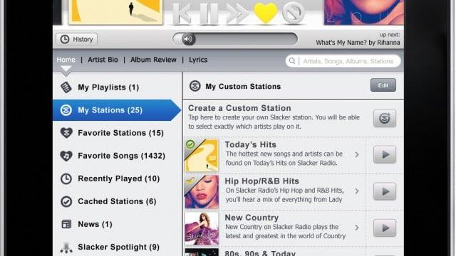 CES: New Slacker Radio iPad App Coming Soon!