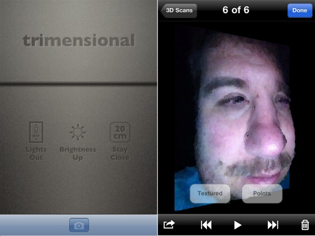 Everything Is Going 3-D, Even Mobile Image Capturing - Trimensional For iPhone 4 And 4G iPod Touch